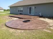 Oshkosh stamped concrete patio/slab/driveway contractor co ...
