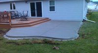 Concrete Patio in Clintonville WI